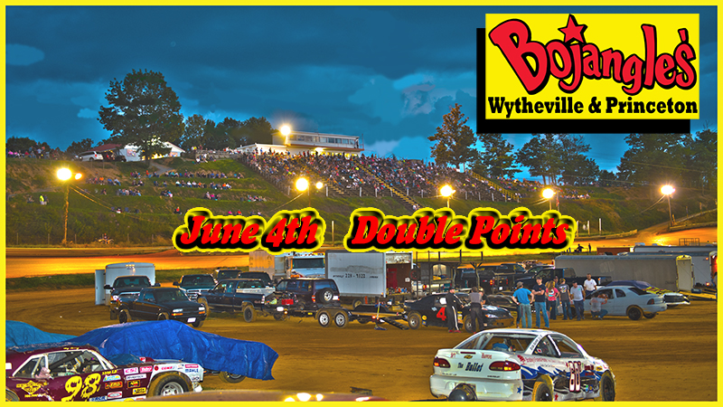 June 4, 2016 Schedule of Events BOJANGLES DOUBLE POINTS