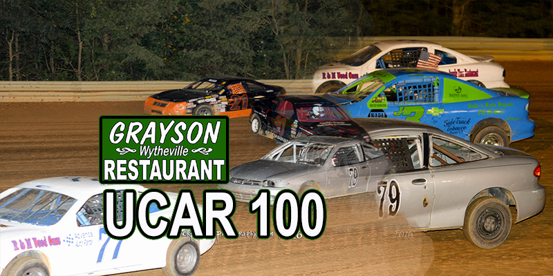 UCAR 100 Payout presented by Grayson Restaurant of Wytheville