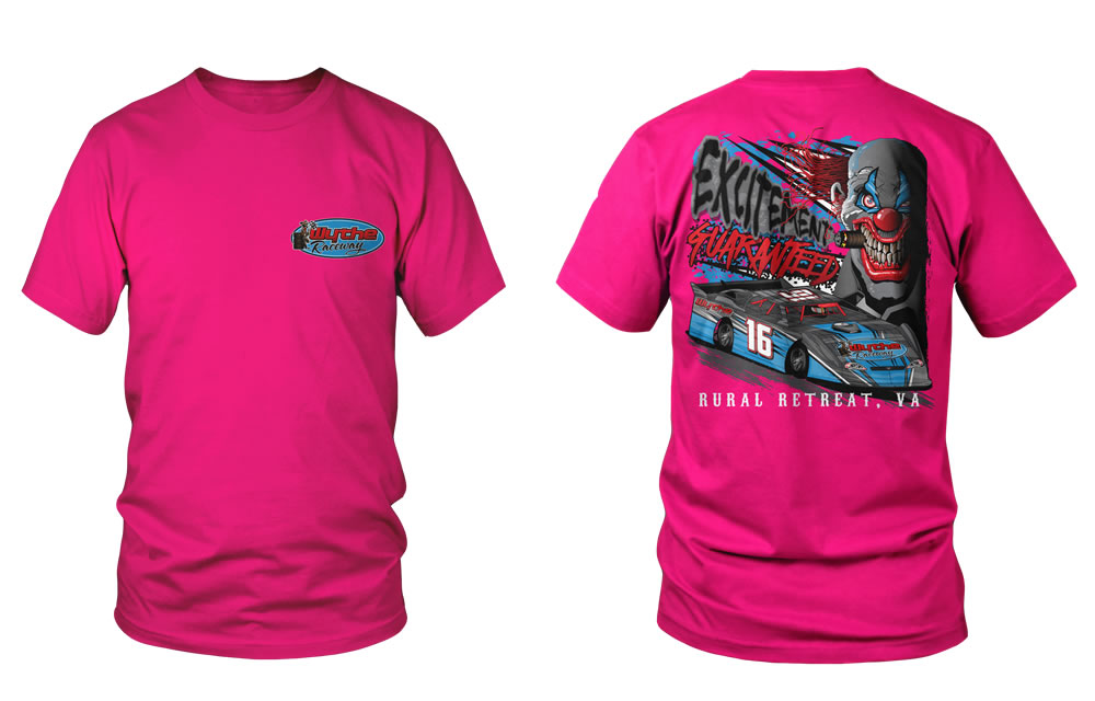 Excitement Guaranteed T-Shirt Neon Pink