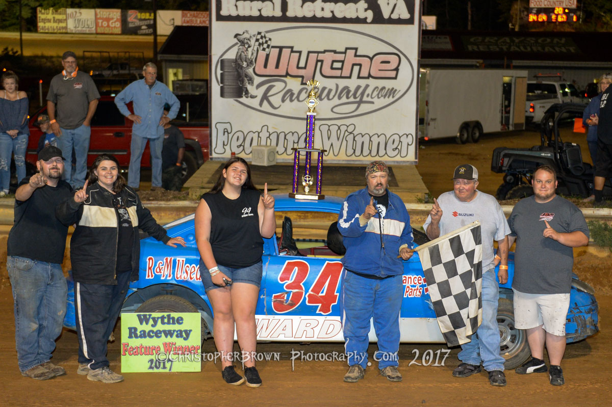 Wythe Raceway Results September 16, 2017