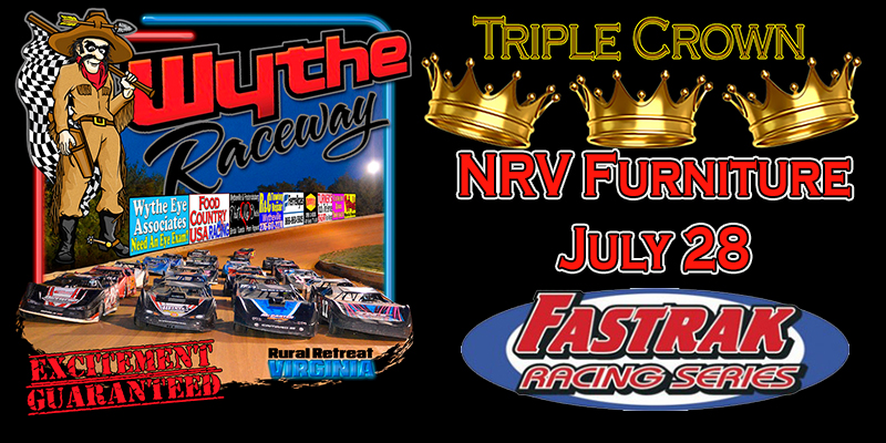 14th Annual FASTRAK Triple Crown to conclude at Wythe Raceway; July 28