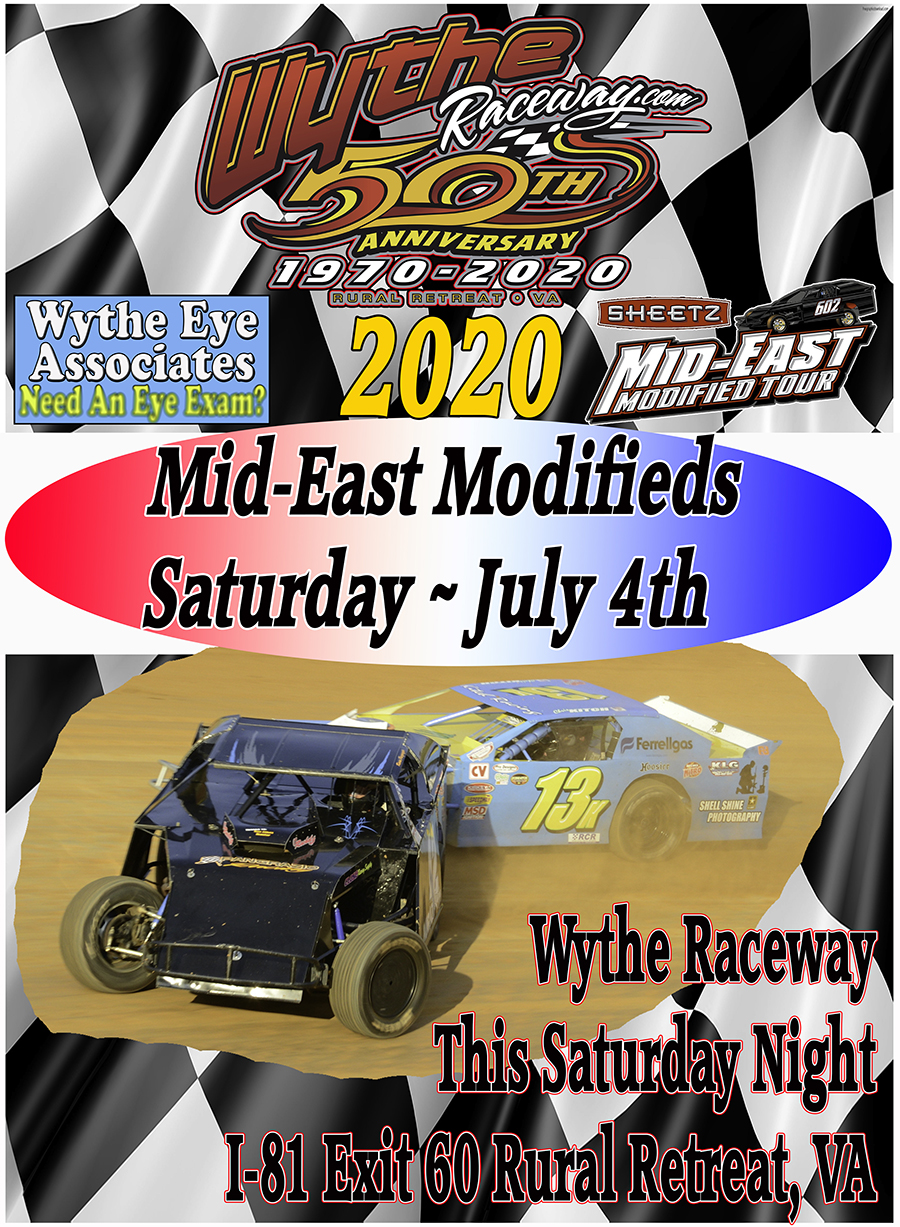 Mid East Modifieds This Saturday Night