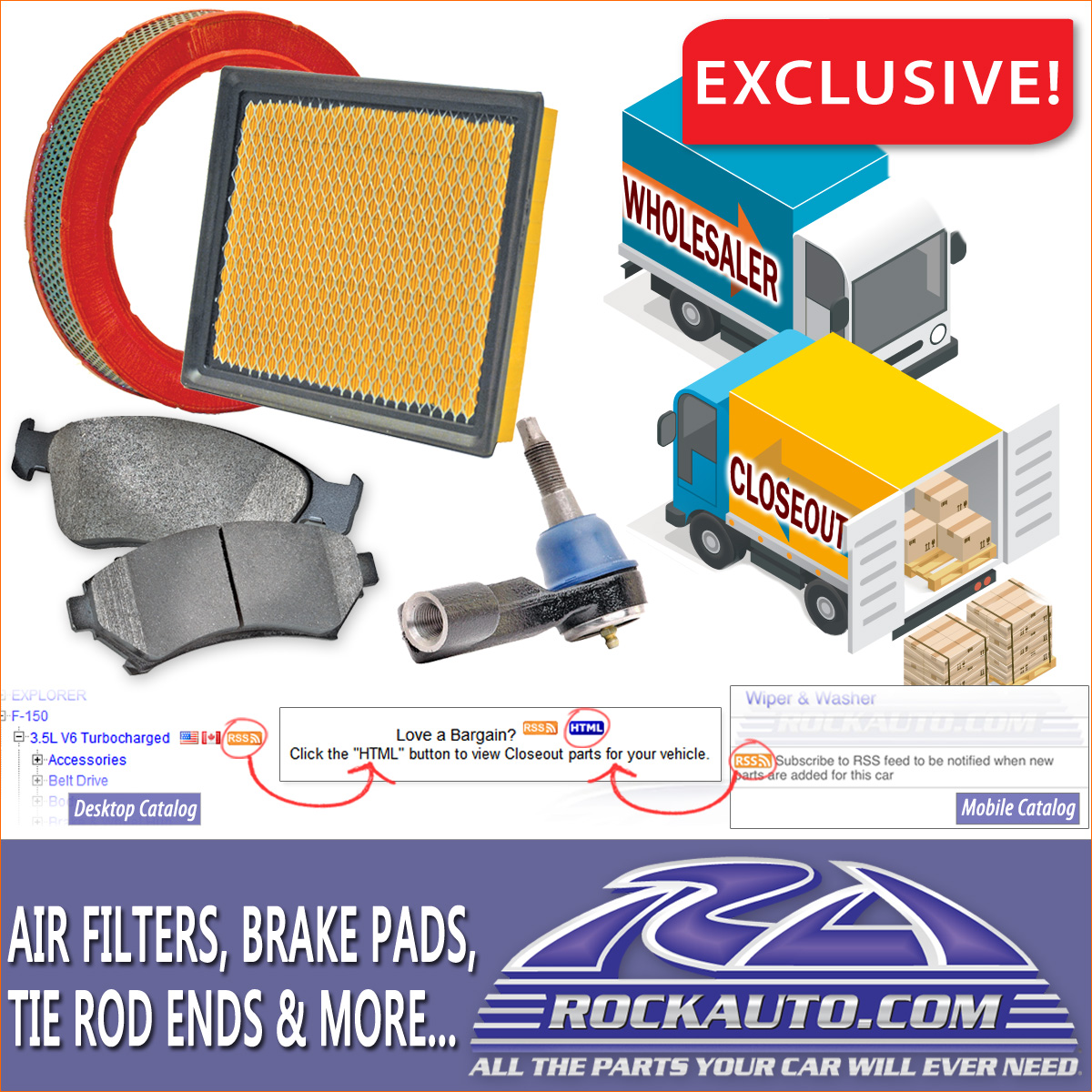 RockAuto.Com Closeout Parts