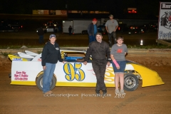 Kevin Atwell of Rural Retreat finishes second in the Pro Mini Feature Race