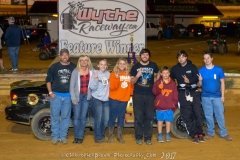 Brandon Hale of Lebanon finishes second in the UCAR Feature